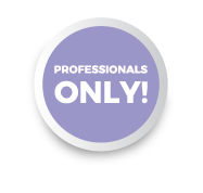Profesionals only sticker